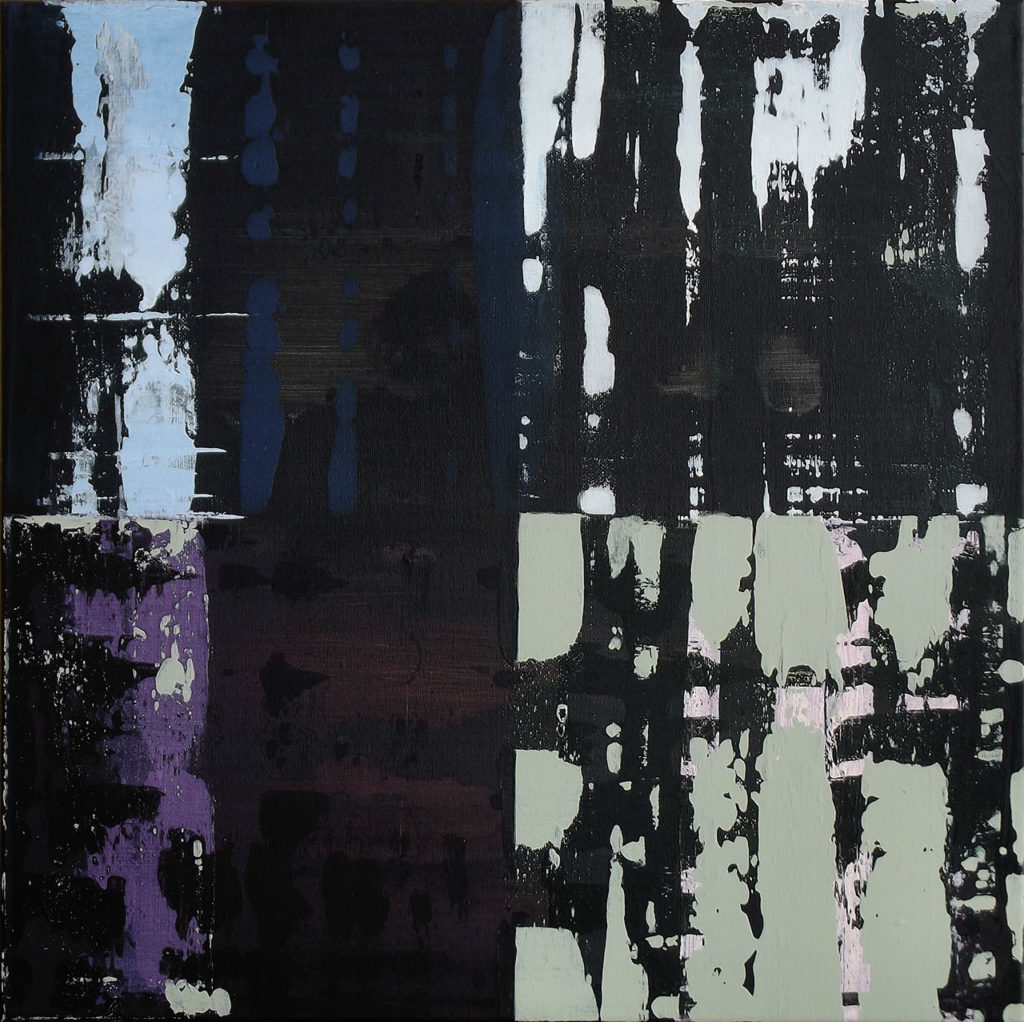 """Toile de la série """"peintures sans qualités"""""""
