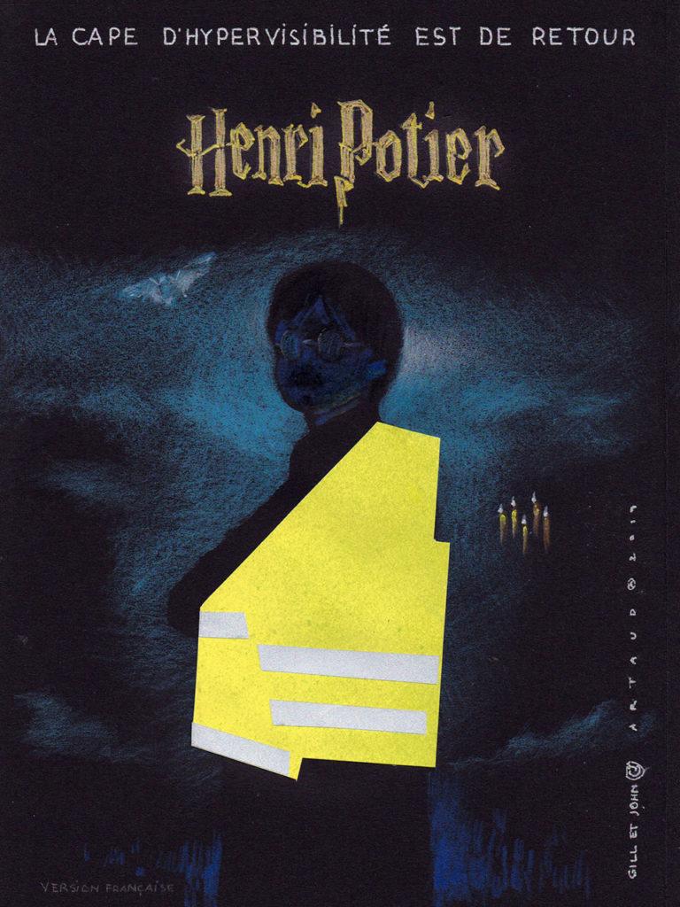 Harry Potter et sa cape d'hypervisibilité