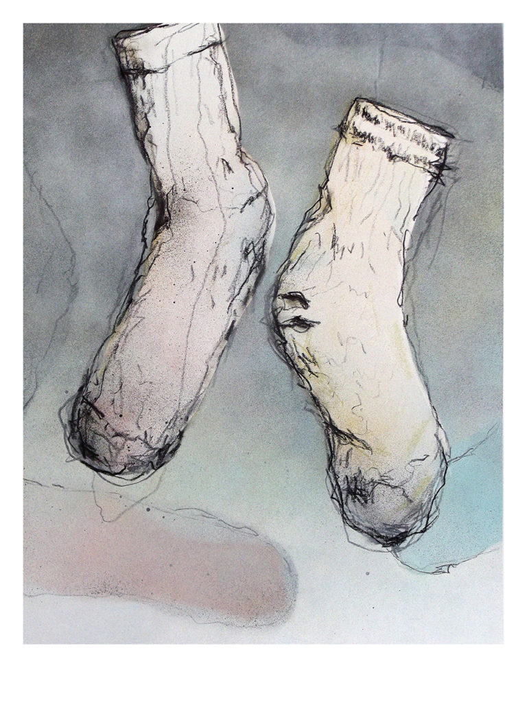 vieilles chaussettes