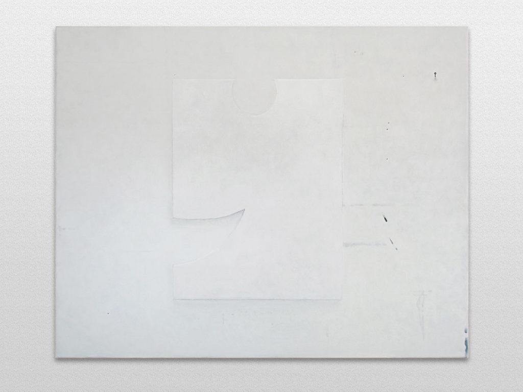 Mur de l'atelier de l'artiste Philippe HURTEAU