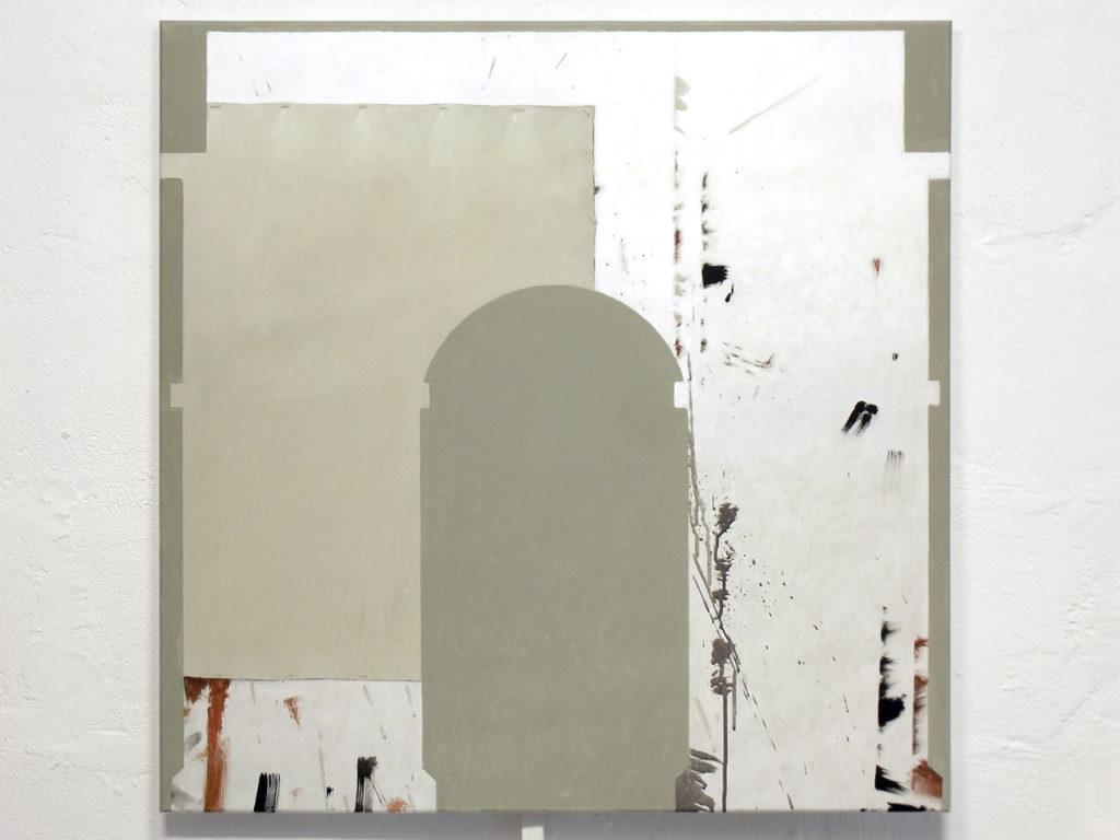 arc de triomphe, à l'artiste inconnu, mur d'atelier
